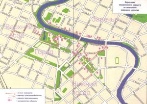 Обзорной экскурсии по Вологде (маршрут)