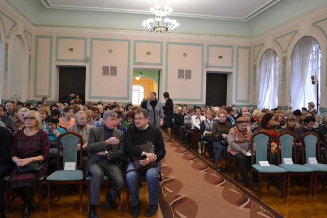 На встрече с Сергеем Никоненко
