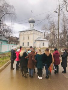 Экскурсия А. Сазонова к Международному дню охраны памятников 20.04.2019