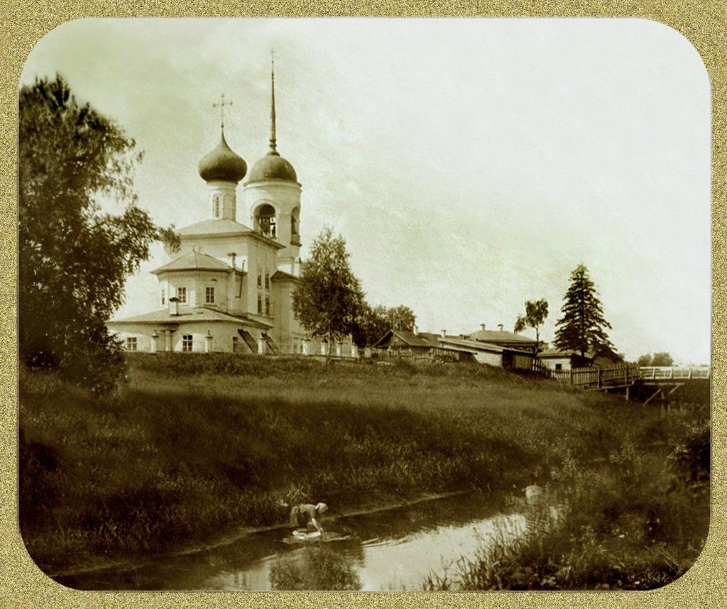 Золотуха. Николо-Глинковская церковь/Александр Кубарев