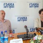 Василий Лановой на гастролях театра в Вологде