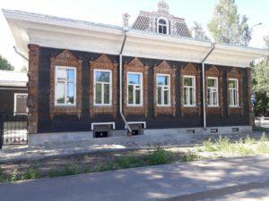 Вологда дом Бурлова на Октябрьской, 11 (после реставрации)